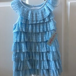 NEW Cat & Jack 2T Spring Dress — Baby Blue